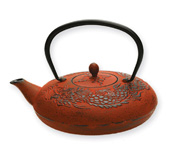 Mythology Cast Iron Teapot