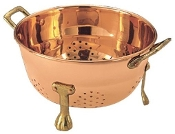 Décor Copper Berry Colander