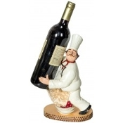 Chef Wine Bottle Holder by DCI