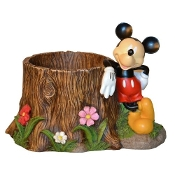 Mickey Mouse Stump Planter