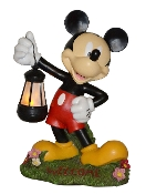 Mickey Mouse Lantern Statue 12in- LED lit