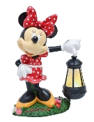 Minnie Mouse Lantern Statue 12in- LED lit