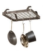 Décor Low Ceiling Small Rectangle Hanging Pot Rack