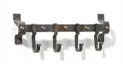 Rustic 4Peg Wall Hook Bar