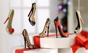 Stiletto Shoe Ornaments