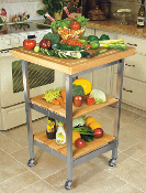 Oasis Folding Kitchen Island