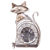 Figurine Fan- Cat (Small)