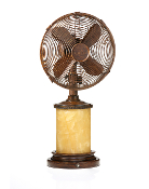 "10"" Table / Lamp Fan -Marble"