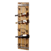 Midwest CBK Wooden Wall Mounted Wine Rack