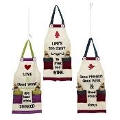 Kitchen Apron Christmas Ornaments
