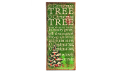 Giftcraft O' Christmas Tree Novelty Sign