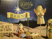 Mini Christmas Holy Night Starter Set. 7pc set.