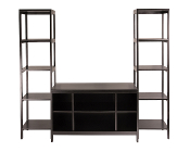Hailey 3pc TV Stand Shelf Set