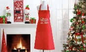 Holiday Design Fabric Apron