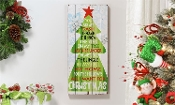 MDF Holiday Design Wall Plaque (All I Want)