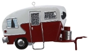 Tin Classic Camper Ornament