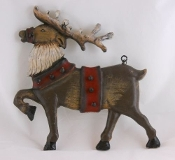 Reindeer - Hanging Decorative Plaque for Arrow Hanger