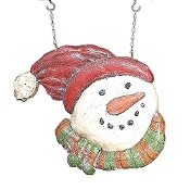 Snowman Hanging Decorative Plaque for Arrow Hanger