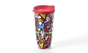 Romero Britto 20oz Double-Wall Hearts Tumbler