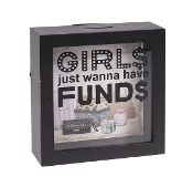 Girls Just Wanna Have Funds, Shadow Box Bank