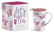 14.5oz Porcelain Infuser Mug with Matching Gift Box.