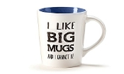 Simply Said-16 oz Ceramic Mug - I Like Big Mugs and I Cannot Lie
