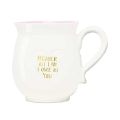 Giftboxed Coffe Mug, Mother, All I Am I Owe To You
