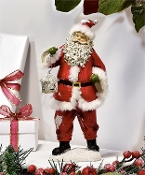 Santa with Present Decoration
