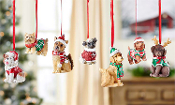 Christmas Dog Ornaments Available in 7 Breeds