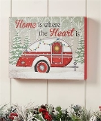 Christmas Camper Wall Art
