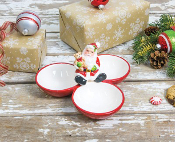 Santa Trio Dip Holder