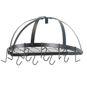 Old Dutch Half Dome Oiled Bronze Pot Rack