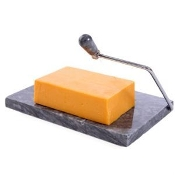 Marble Cheese Board, Gray