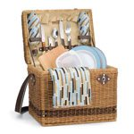 Yellowstone-Driftwood Picnic Basket