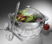 Iced Salad with Dome Lid