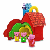 Three Little Pigs Play Set