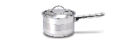 Cuisinox Gourmet® 3 qt Covered Saucepan
