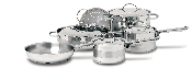 Cuisinox Gourmet® 10 pc Cookware Set
