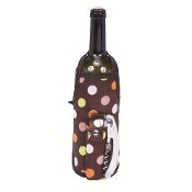 Picnic Gift Deluxe Wine Apron - Polka Dots