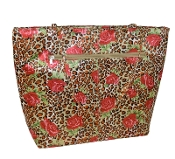Bella Sac - Gold, Red Rose, Black and Chocolate Flower