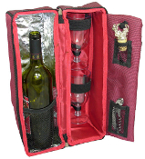 Picnic Gift Solana Two Person Wine Tote