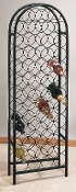 47 Bottle Classic Arch Wine Rack