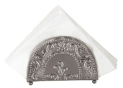 "Antique Embossed ""Victoria"" Napkin Holder"