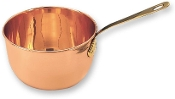 "6½"" Diameter Solid Copper Beating Bowl/Zabaglione Pan, 2 Quarts"