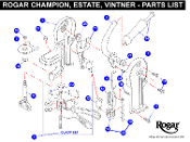 Rogar Estate Wine Opener Replacement Parts