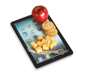 Tablet Shape Cheese Board