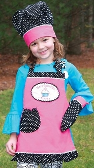 More Sprinkles Apron 3pc Set