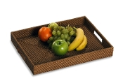 Brizo rattan serving tray
