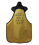 Wild Hare Designs Apron - Smokin Hot Grill Guy