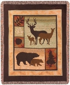 Call of the Wild Tapestry Blanket